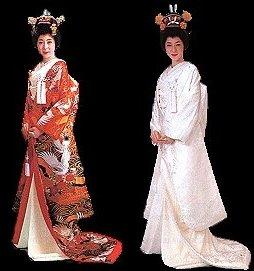 Kimono de mariage traditionnel